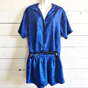 Vintage Victoria's Secret Gold Label Pajama Set